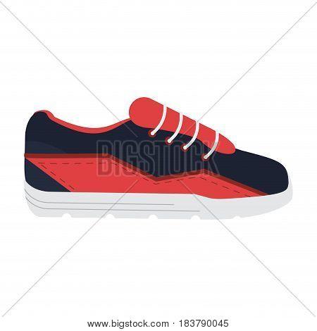 sport sneakers icon image vector illustration design