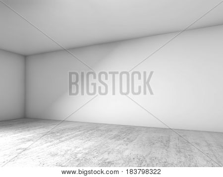Abstract Empty Room Interior Background