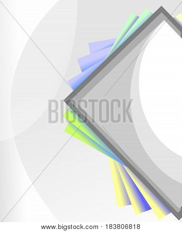 silver perpectual background, elegant background, soft curves background