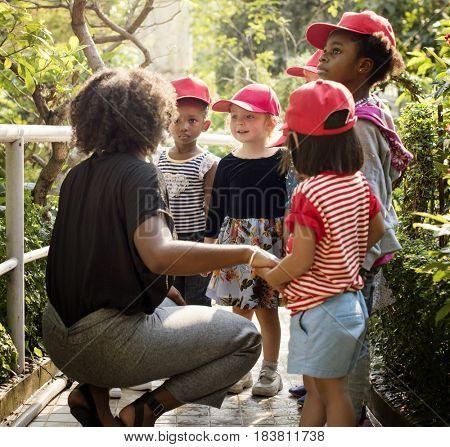 Little Kids and Teacher Learning Environment Field-trip