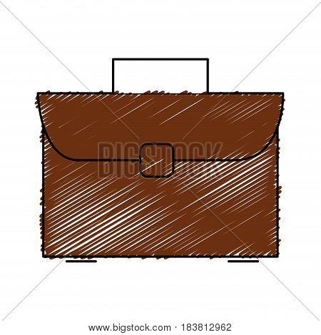 portfolio briefcase isoated icon vector illustration design