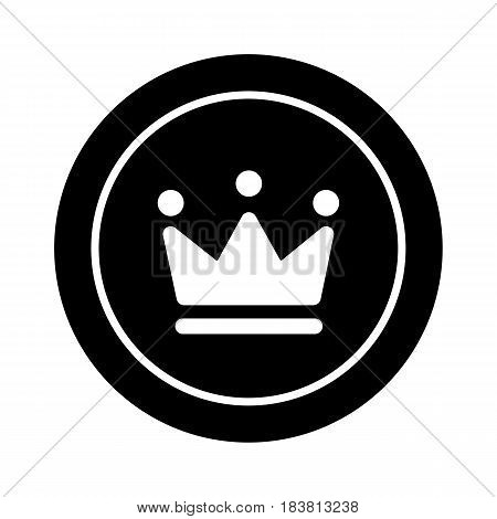 king crown simple icon. Vip symbol. eps 10