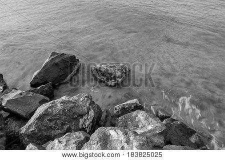 Rocks on seaside at Black sea Bulgaria