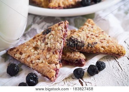 Integral Cookies With Aronia Fruit