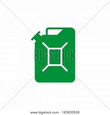 Jerrycan icon vector filled flat sign solid colorful pictogram isolated on white. Symbol logo illustration. Pixel perfect