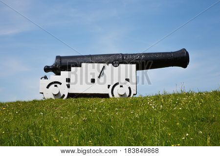 Cannon of Nieuwpoort in the Netherlands