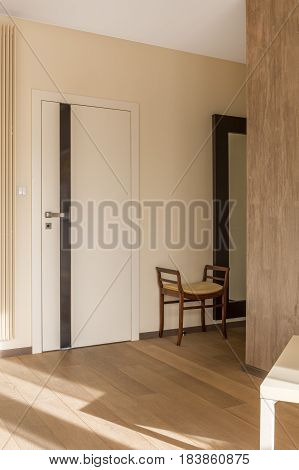 House Corridor In Neutral Colours