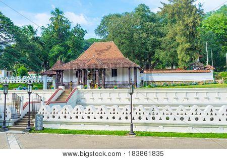 The Vishnu Devale In Kandy