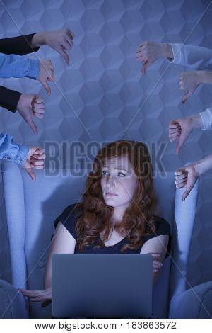 Bullied In Internet