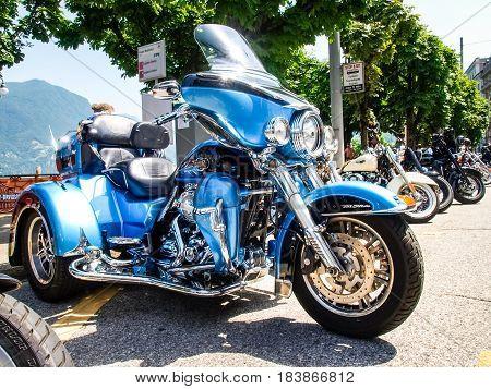 Third Edition Of Swiss Harley Days