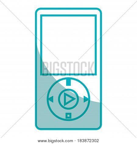 music mp3 player icon vector illustration design
