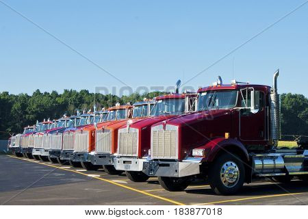 Trucks available for transport in southwestern Michigan