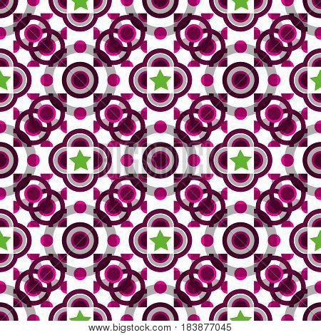Creative patterned texture in the form of a square tile (vector EPS 10)