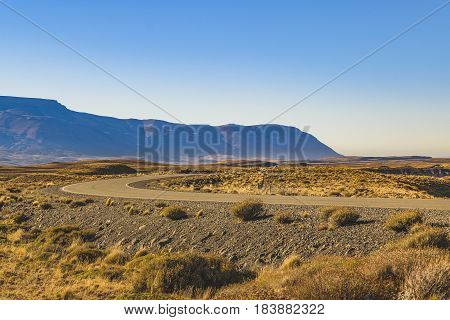 Empty Highway, Patagonia, Argentina
