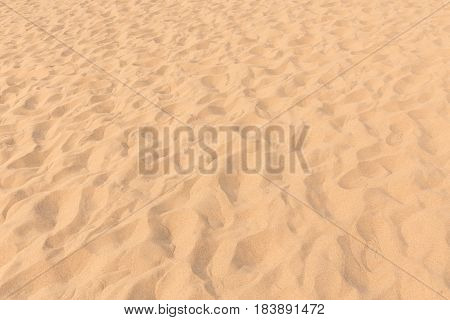 Sand In The Desert