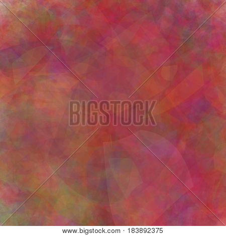 Blurred red background, which is well suited for design