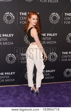 LOS ANGELES - APR 27:  Madelaine Petsch at the