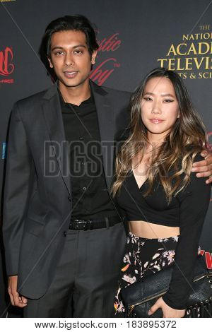 LOS ANGELES - APR 26:  Abhi Sinha, guest at the NATAS Daytime Emmy Nominees Reception at the Hollywood Museum on April 26, 2017 in Los Angeles, CA