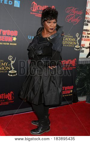 LOS ANGELES - APR 26:  Anna Maria Horsford at the NATAS Daytime Emmy Nominees Reception at the Hollywood Museum on April 26, 2017 in Los Angeles, CA