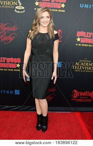 LOS ANGELES - APR 26:  Jen Lilley at the NATAS Daytime Emmy Nominees Reception at the Hollywood Museum on April 26, 2017 in Los Angeles, CA