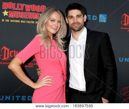 LOS ANGELES - APR 26:  Melissa Ordway, Justin Gaston at the NATAS Daytime Emmy Nominees Reception at the Hollywood Museum on April 26, 2017 in Los Angeles, CA