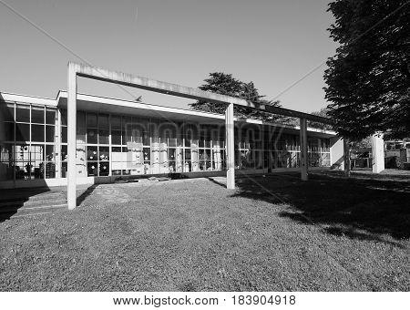 Asilo St Elia Kindergarten In Como In Black And White