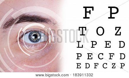 Eye Test Vision Chart