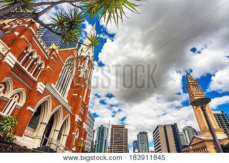 Albert Street Uniting Church Brisbane Queensland Australia