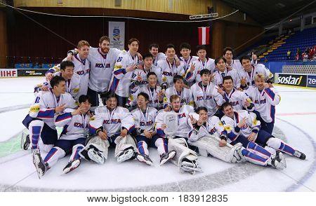 Ice Hockey 2017 World Championship Div 1A In Kiev, Ukraine