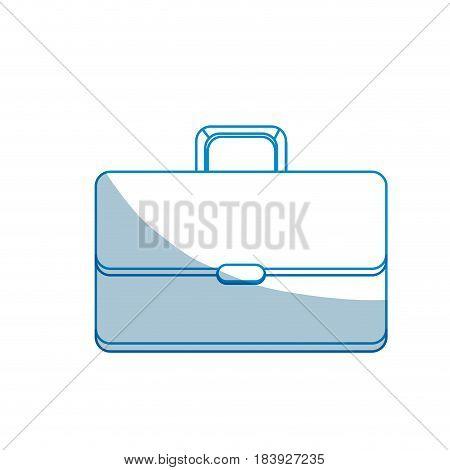 contour suitcase to save business documents, vector illustration design