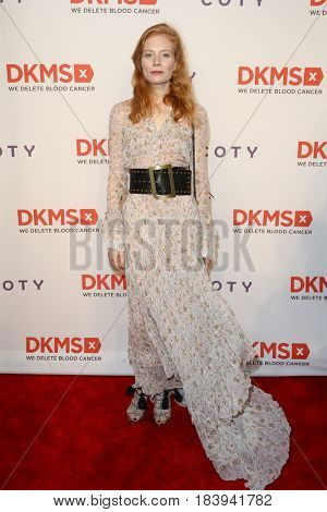 NEW YORK-APR 27: Actress Jessica Joffe attends the 11th Annual DKMS 'Big Love' Gala at Cipriani Wall Street on April 27, 2017 in New York City.