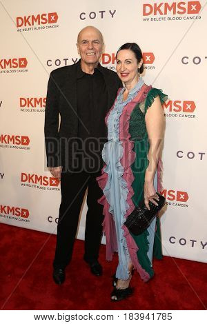 NEW YORK-APR 27: Peter Harf (L) and Tina Harf attend the 11th Annual DKMS 'Big Love' Gala at Cipriani Wall Street on April 27, 2017 in New York City.