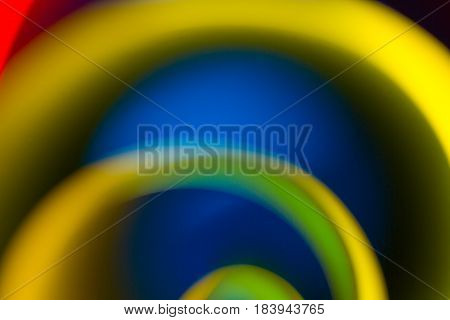 abstract art of colorful blur background and gradient color is curve shape abstract wallpaper.