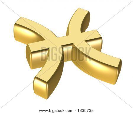 Pisces  Astrology Symbol