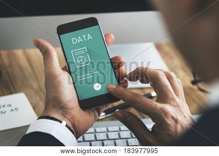 Progress Report Information Data Concept