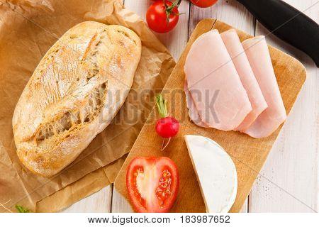Breakfast preparation