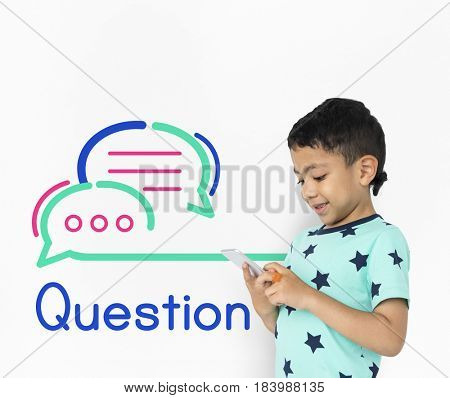 Question Ask Me Support Concept