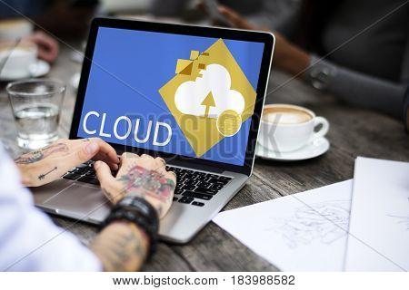 Cloud Storage Network Community Concept