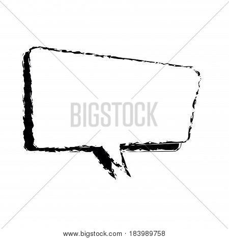 comic speech bubble talking sketch vector illustration design