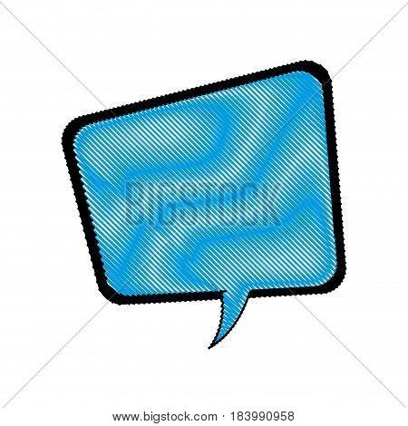 comic speech bubble talking communication vector illustration design