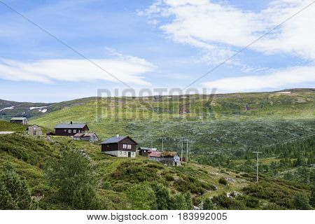 Holiday home in the mountain at Sognefjorden Norway