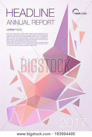 Vector Flyer, Corporate Business, Annual Report, Brochure Design And Cover Presentation With Orange