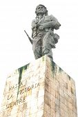 Che Guevara memorial with bronze statue in Santa Clara, Cuba poster