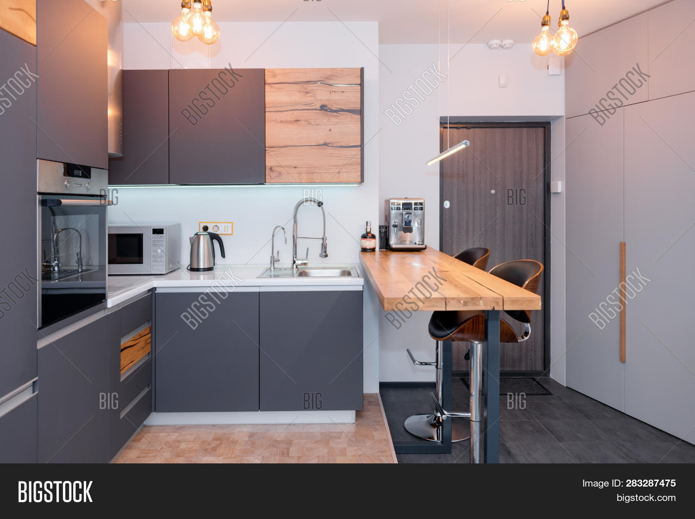 Modern Kitchen Image & Photo (Free Trial) | Bigstock