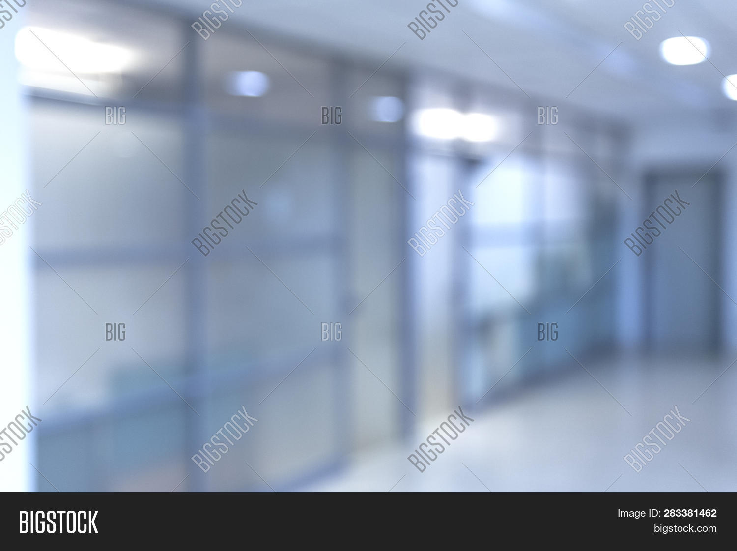 Blurred Office Image Photo Free Trial Bigstock