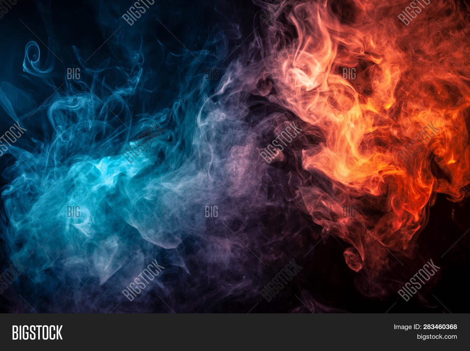Abstract Art Colored Image Photo Free Trial Bigstock
