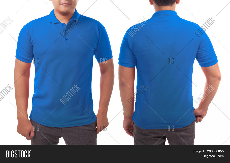Blank Collared Shirt Image Photo Free Trial Bigstock