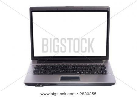 Laptop Pc On White Background