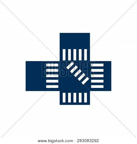 Isolated Shibuya Icon Symbol On Clean Background. Vector Japan Element In Trendy Style.