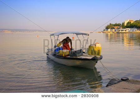 Fisher Preparing To Work